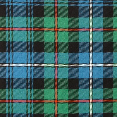 Robertson Hunting Ancient Heavy Weight Tartan Fabric-Front