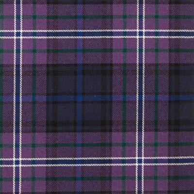 Scotland Forever Modern Heavy Weight Tartan Fabric-Front