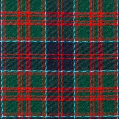 Stewart of Appin Hunting Modern Heavy Weight Tartan Fabric-Front