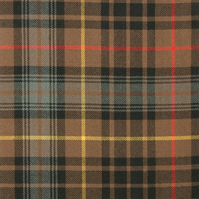 Stewart Hunting Weathered Heavy Weight Tartan Fabric-Front