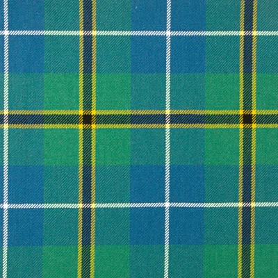 Turnbull Hunting Ancient Heavy Weight Tartan Fabric-Front