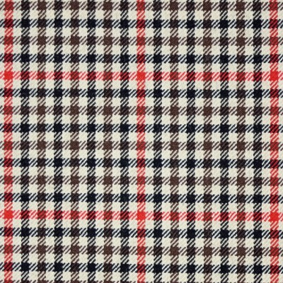 Denholm Check Tweed Light Weight Fabric-Front1