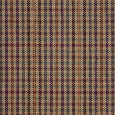 Ednam Check Tweed Light Weight Fabric-Front