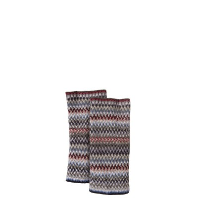 Arctic Faith Wool/Angora Knitted Fingerless Gloves