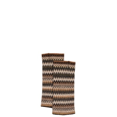 Havana Faith Wool/Angora Knitted Fingerless Gloves