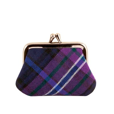 Scotland Forever Modern Tartan Small Coin Purse