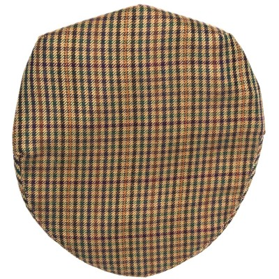 Ednam Check Tweed Barnton Flat Cap