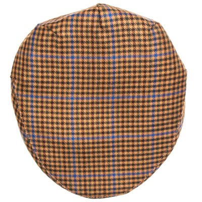 Kyle Check Tweed Barnton Flat Cap