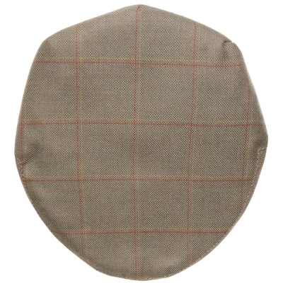 Oban Check Tweed Barnton Flat Cap - Above