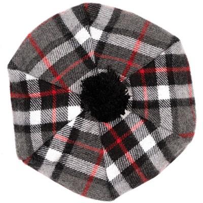 Thomson Grey Tartan Brushed Wool Tam