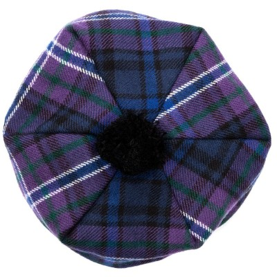 Scotland Forever Modern Brushed Wool Tam - Top
