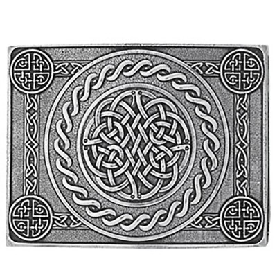Celtic Knot 4 Dome Buckle & Belt