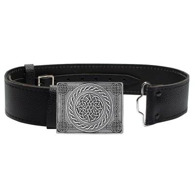 Celtic Knot 4 Dome Buckle & Belt