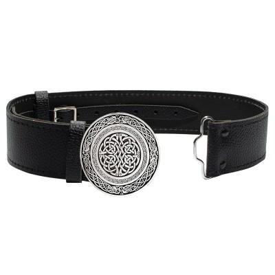 Wallace Circular Celtic Knot Buckle & Belt
