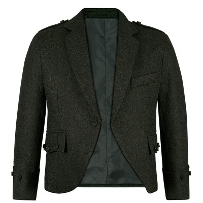 Herringbone Talla Waverley Tweed Argyll Kilt Jacket