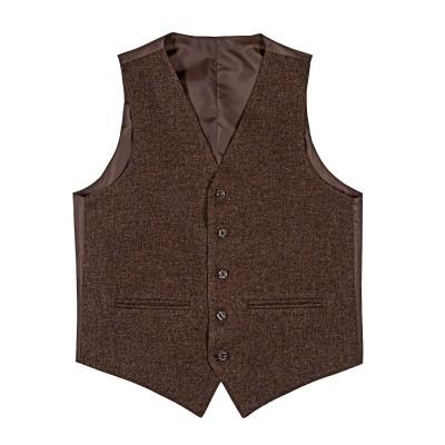 Gamekeepers Shetland Tweed 5 Button Kilt Waistcoat