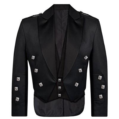 Barathea Prince Charlie Kilt Jacket & Vest