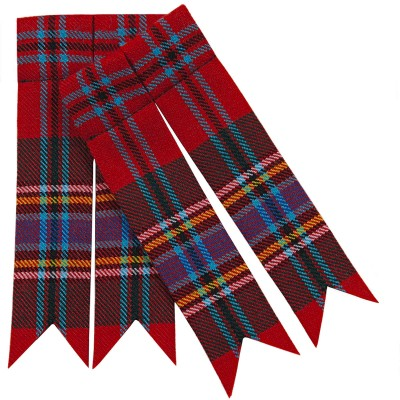 Made to Order Braeriach Medium weight Tartan Flashes