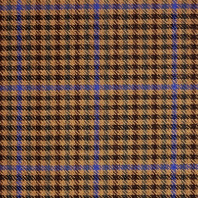 Kyle Check Tweed Light Weight Fabric-Front