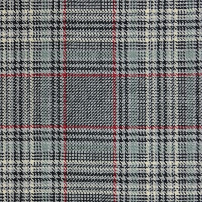 Plockton Check Tweed Light Weight Fabric-Front