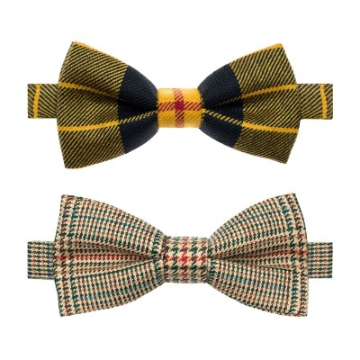 Made to Order Reiver Light Weight Tartan Bow Tie