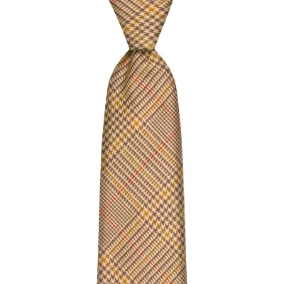 Crail Estate Check Wool Tie