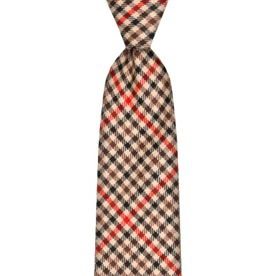 Denholm Estate Check Tweed Wool Tie