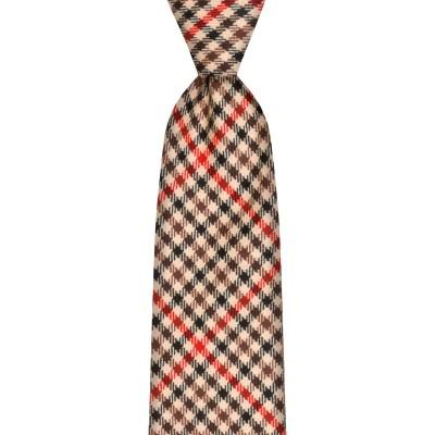Denholm Estate Check Wool Tie
