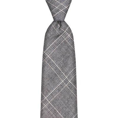 Dornoch Estate Check Tweed Wool Tie