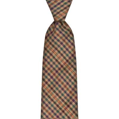 Ednam Estate Check Wool Tie