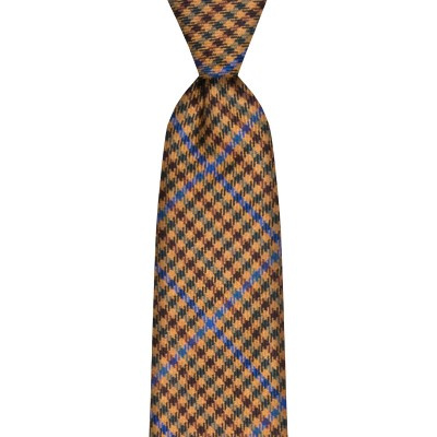 Kyle Estate Check Wool Tie