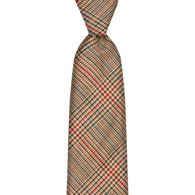 Minto Estate Check Tweed Wool Tie