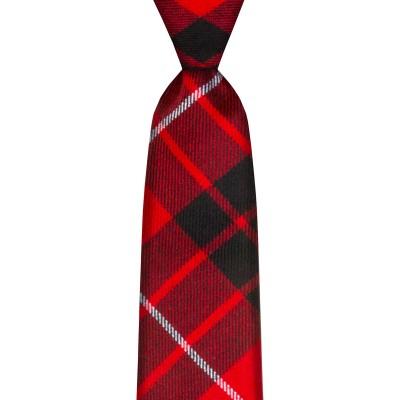 Munro Black/Red Modern Tartan Tie
