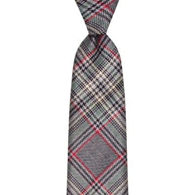 Plockton Estate Check Tweed Wool Tie