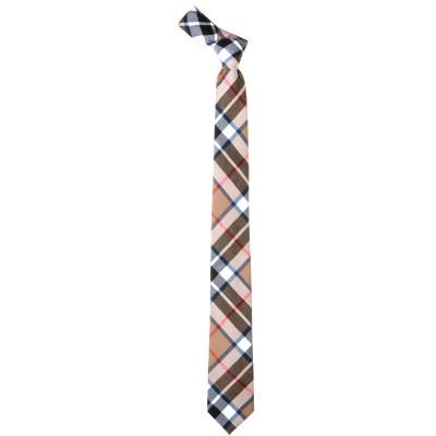 Thomson Camel Modern Skinny Tartan Tie