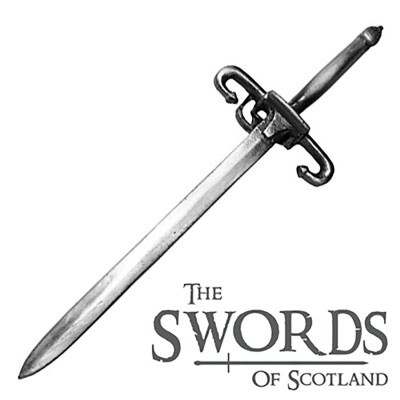 Wallace Sword Kilt Pin