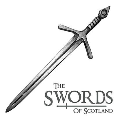 West Highland Sword Kilt Pin