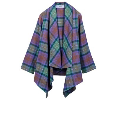 Isle of Skye Tartan Lambswool Kerry Jacket