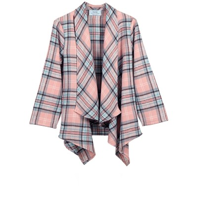 Diana, Princess of Wales Memorial Rose Tartan Lambswool Kerry Coat