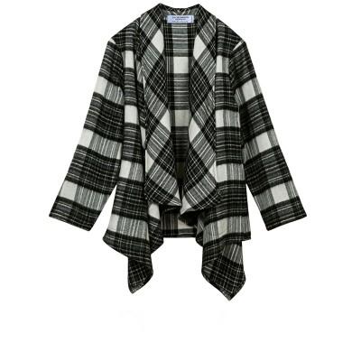 Stewart Grey Dress Tartan Lambswool Kerry Jacket
