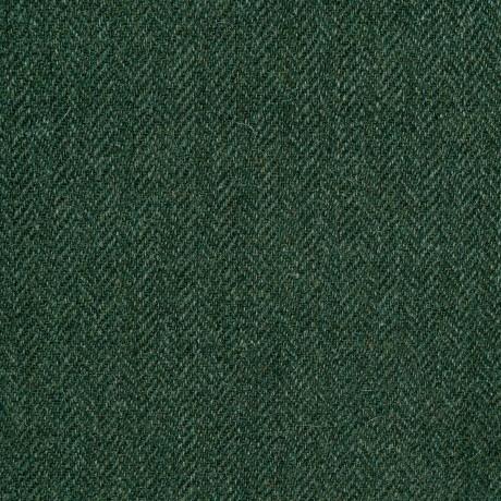 Estate Managers Green Shetland Jacketing Tweed Fabric