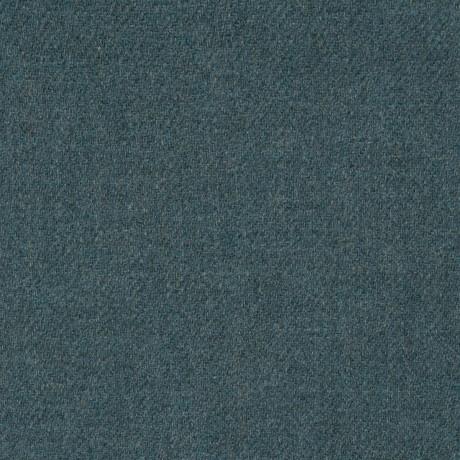 Fishermans Blue Shetland Jacketing Tweed Fabric