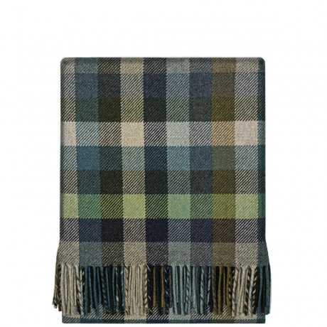 Fleur Atlantic Block Wool Blanket