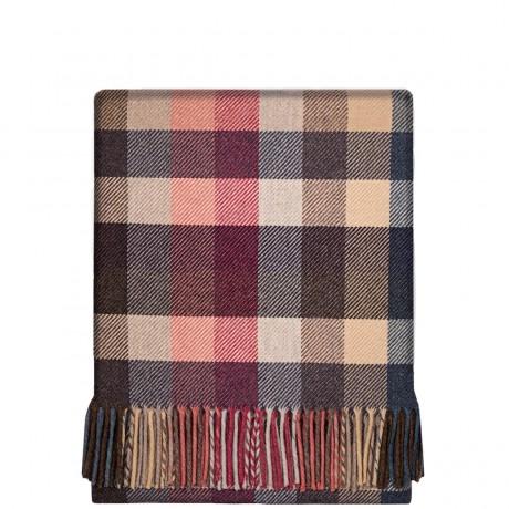 Fleur Picnic Block Wool Blanket