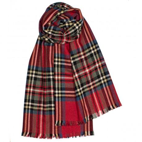 Brock Royal Stewart Modern Luxury Fine Wool Stole