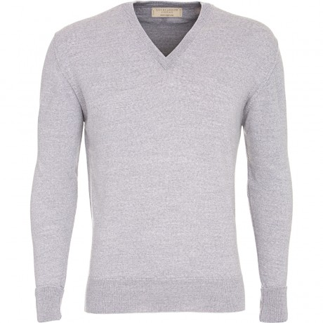 Classic Mens Merino V-Neck Jumper