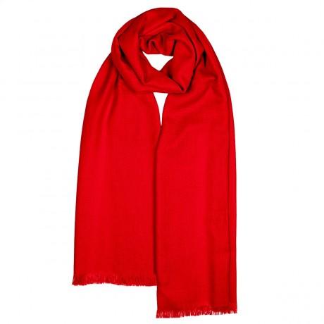 Aubrey Scarlet Luxury Cashmere Stole