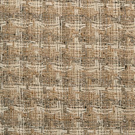 Camel/Cream Multi Wool Tweed Fabric