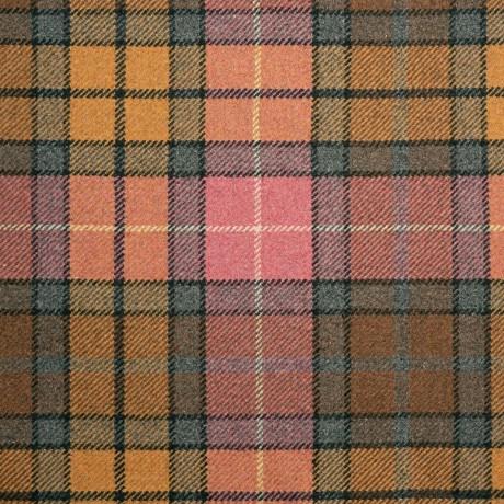 Buchanan Weathered Wool Blend Tweed Fabric