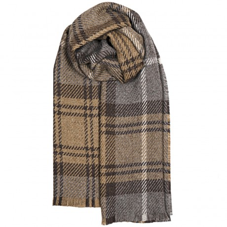 Fearne British Wool Cranston Taupe Stole